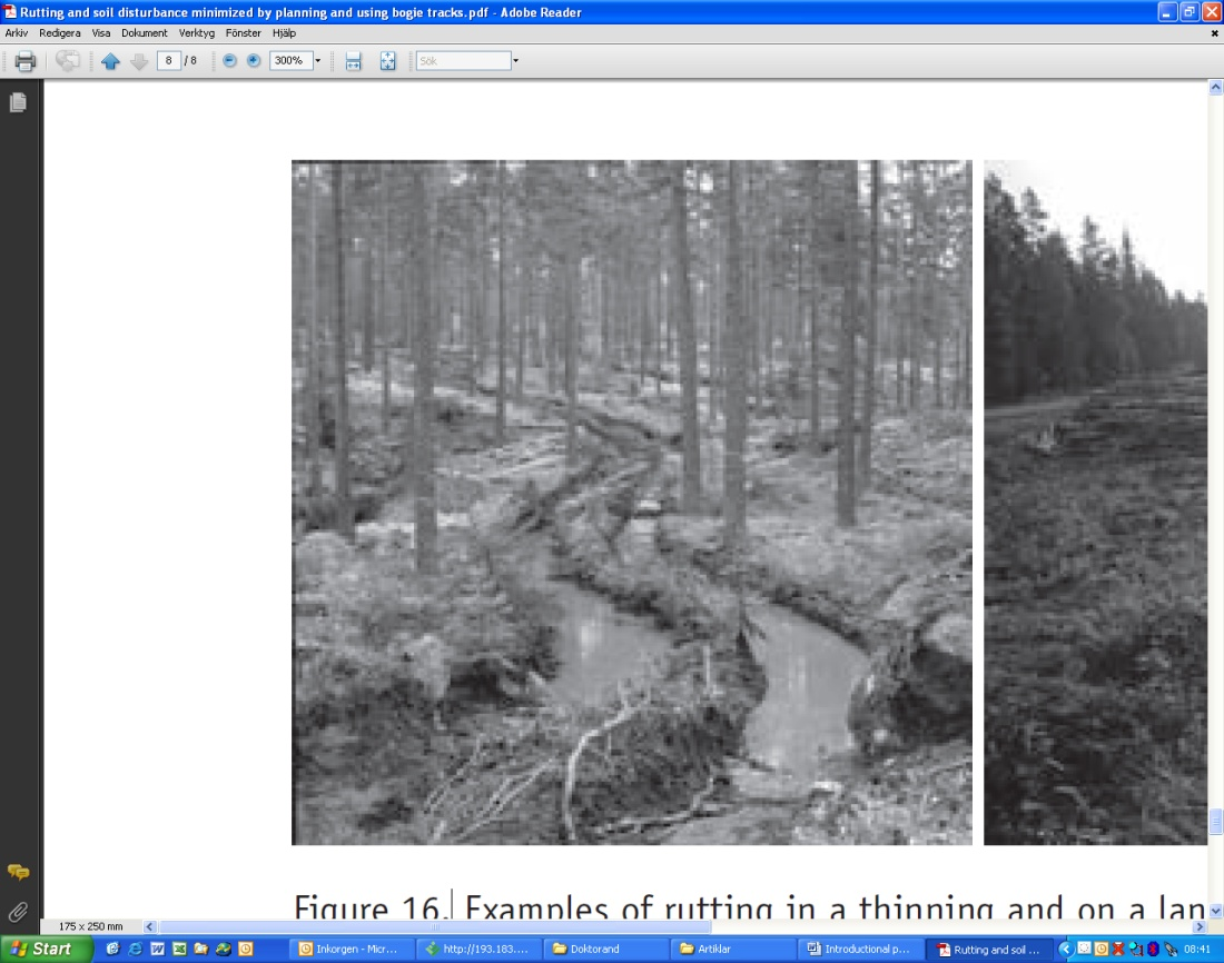 Harvesting in the boreal forest on soft ground - Epsilon Open Archive